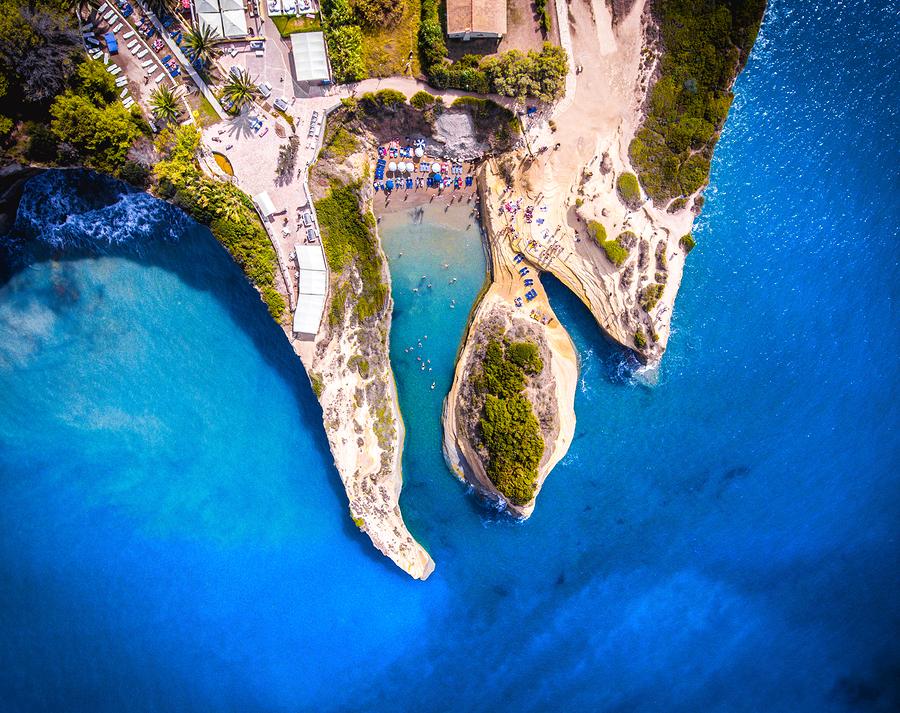 korfu Canal D amour - Korfus 5 bästa stränder